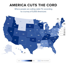 Cord Cutting in 2019: A State by State Look