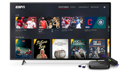 ESPN+ Now Available on Roku Devices