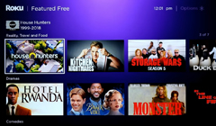 First Look: Roku's New Featured Free Service