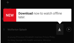 Netflix Finally Lets You Download Shows and Movies