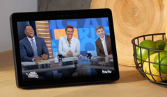 Hulu & Skype Coming to the New Amazon Echo Show