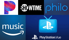 PlayStation Vue, Philo, Showtime, Pandora, & Amazon Music Unlimited All Have Black Friday Sales