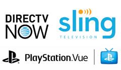 Sling TV vs. PlayStation Vue vs. DIRECTV Now