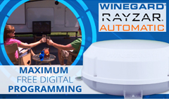 Save $160 on the Winegard Rayzar Automatic RV HDTV Antenna