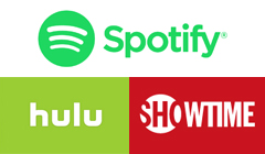Spotify Adds Showtime to Its $5-A-Month Hulu Bundle for College Students
