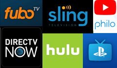 Live TV Streaming Services Comparison
