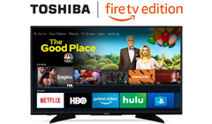 Amazon's New Smart TVs with a Fire TV Built-In Now Start at $249.99 Today Only