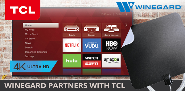Winegard Partners with TCL